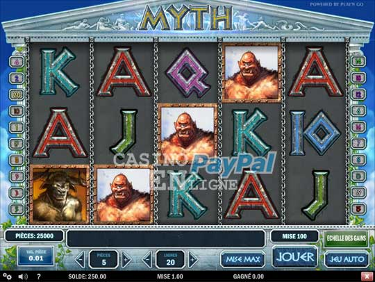 casino en ligne acceptant paypal
